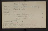 """view Report Card of Grace Murray Hopper, 8 June 1950) """"Tact -A+++++ * *Spoke very nicely to Dresch"""". digital asset: Report Card of Grace Murray Hopper, 8 June 1950) """"Tact -A+++++ * *Spoke very nicely to Dresch""""."""