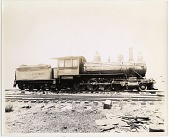 view Prints of locomotives and other background material, numbers 600-900s digital asset: Prints of locomotives and other background material, numbers 600-900s