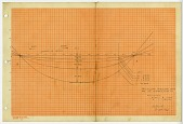 view Calculated deflection curve, 7/30/47 digital asset: Calculated deflection curve, 7/30/47