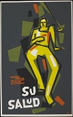 view Su Salud [screenprint poster] digital asset: Su Salud