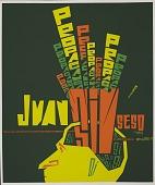 """view Juan Sin Seso [""""Brainless John""""] [screen print poster] digital asset: Juan Sin Seso"""