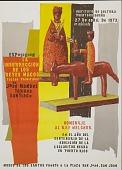 view La Insurreccion de los Reyes Magos [screen print poster] digital asset: La Insurreccion de los Reyes Magos