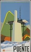 view El Puente [screenprint poster] digital asset: El Puente