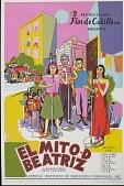 view El Mito-D Beatriz [screenprint poster] digital asset: El Mito-D Beatriz