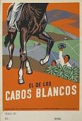 view El de los Cabos Blancos [screen print poster] digital asset: El de Los Cabos Blancos