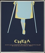 view Chela [screenprint poster] digital asset: Chela