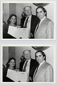 view Ed Koch presenting Certificate of Appreciation to Goya Foods digital asset: Ed Koch presenting Certificate of Appreciation to Goya Foods