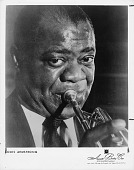 view Louis ArmstrongIncludes the Hot Fives and Hot Sevens, 1925 and 1928 with W.C. Handy, digital asset: Louis ArmstrongIncludes the Hot Fives and Hot Sevens, 1925 and 1928 with W.C. Handy,