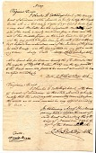 view Certificate of free birth, Loudoun County, Virginia digital asset: Certificate of free birth, Loudoun County, Virginia