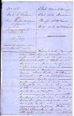 view Slave sale document, New Orleans, Louisiana digital asset: Slave sale document, New Orleans, Louisiana