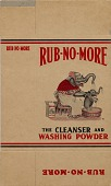 view Procter & Gamble Company Product Packaging Collection digital asset: Rub No More Cleanser and Washing Powder