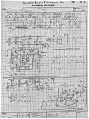 view Aladdin Radio Industries-Engineering notebook digital asset: Aladdin Radio Industries-Engineering notebook