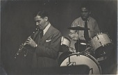 view Benny Goodman (with Gene Krupa), digital asset: Benny Goodman (with Gene Krupa),