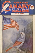view Pete Claussen Collection of American Flag Magazine Covers digital asset: American Canary Magazine, 1942 July
