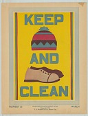 view 26, Keep [hat] and [shoes] Clean, by Bess Eleanor Foster.  March digital asset: 26, Keep [hat] and [shoes] Clean, by Bess Eleanor Foster.  March