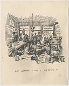 view Worthington Corporation Records digital asset: J.F. Grace Cartoon Sketches