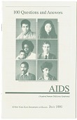 view AIDS: 100 Questions and Answers, (Spanish/English pamphlet), 1988 digital asset: AIDS: 100 Questions and Answers, (Spanish/English pamphlet), 1988