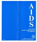 view AIDS Information Pamphlet, (pamphlet) digital asset: AIDS Information Pamphlet, (pamphlet)