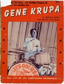 "view Leslie Schinella Collection of Gene Krupa Materials digital asset: Gene Krupa,"" by Arnold Shaw"