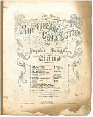 "view Dixey with Southern Words [sheet music] digital asset: ""Southern Dixie"""