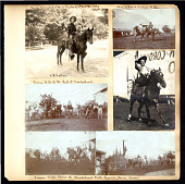 view L. F. Foster Wild West Scrapbooks, Photographs, and Copy Negatives digital asset: Scrapbook album, number one, pages disassembled
