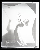 view H-122, Blanche Calloway with baton digital asset: H-122, Blanche Calloway with baton