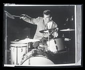 "view H-139, Gene Krupa, movie still, RKO Film ""Beat the Band"" digital asset: H-139, Gene Krupa, movie still, RKO Film ""Beat the Band"""