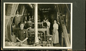 view Women in Industry Photographs and Advertisements digital asset: Women in Clothing Industry, clothes pin room