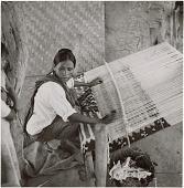view Yoreme (Mayo) woman weaving digital asset: Yoreme (Mayo) woman weaving