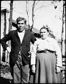 view Portrait of Robert Lee Harris and Nettie Owl Harris digital asset: Portrait of Robert Lee Harris and Nettie Owl Harris