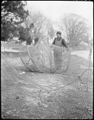 view Isaac Harmon with fish trap digital asset: Isaac Harmon with fish trap