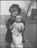 view Young Chickahominy Girl with Doll digital asset: Young Chickahominy Girl with Doll