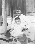 view Portrait of Mattaponi woman and child digital asset: Portrait of Mattaponi woman and child