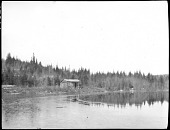 view Lakeside Cabin in the Mauricie Region, Québec digital asset: Lakeside Cabin in the Mauricie Region, Québec