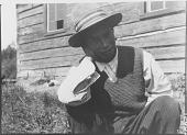 view Portrait of Young Algonquin [Lac Barriere (Barriere Lake)] Man digital asset: Portrait of Young Algonquin [Lac Barriere (Barriere Lake)] Man