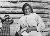 view Portrait of an Algonquin [Lac Barriere (Barriere Lake)] Woman with Young Girl digital asset: Portrait of an Algonquin [Lac Barriere (Barriere Lake)] Woman with Young Girl