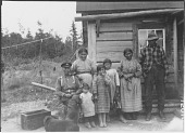 view Portrait of the Aubin (Oban) and Wabamoose Family digital asset: Portrait of the Aubin (Oban) and Wabamoose Family