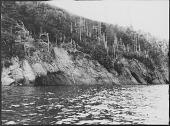 view Kluskap's Cave, Waycobah (Whycocomagh), Nova Scotia digital asset: Kluskap's Cave, Waycobah (Whycocomagh), Nova Scotia