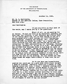 view M.R. Harrington: Correspondence, General digital asset: M.R. Harrington: Correspondence, General