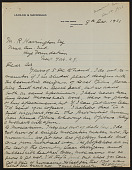 view M.R. Harrington: Correspondence, Laidlaw and Macdonald digital asset: M.R. Harrington: Correspondence, Laidlaw and Macdonald