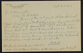 view M.R. Harrington: Correspondence, Professional, A-G digital asset: M.R. Harrington: Correspondence, Professional, A-G