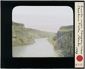 view Snake River canyon below Shoshone Falls digital asset: Snake River canyon below Shoshone Falls