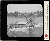 view Salmon wheel. Columbia river digital asset: Salmon wheel. Columbia river
