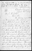 view Bright Eyes, Susette La Flesche: Letters digital asset: Bright Eyes, Susette La Flesche: Letters: 1879