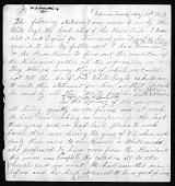 view Bright Eyes, Susette La Flesche: Statement by White Eagle digital asset: Bright Eyes, Susette La Flesche: Statement by White Eagle: 1879