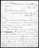 view Department of the Interior: Omaha Documents digital asset: Department of the Interior: Omaha Documents: 1883, 1899