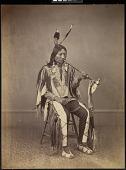 view Sicangu Lakota (Brulé Sioux) delegate, Washington, D.C. digital asset: [P10145] Sicangu Lakota (Brulé Sioux) Head Chief and delegate Ma-za-o-ua-ti (Iron Nation)