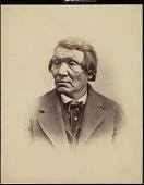 view Wahpetonwan Dakota delegate, Washington, D.C. digital asset: [P10137] Wahpetonwan Dakota (Sisseton-Wahlpeton Sioux) delegate Wa-ka-te (the Shooter)