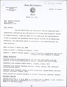 view Correspondence, papers, newsclippings digital asset: Correspondence, papers, newsclippings