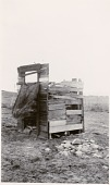 view Outhouse on the Fort McDermitt Reservation digital asset: Outhouse on the Fort McDermitt Reservation